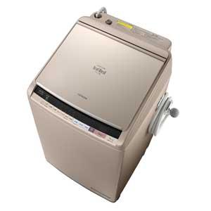 BW-DV100B-N 日立 10.0kg 洗濯乾燥機 シャンパン HITACHI ビートウォッシュ [BWDV100BN]【返品種別A】(標準設置料込)
