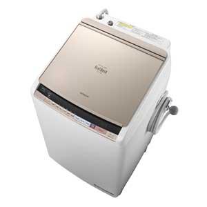 BW-DV80B-N 日立 8.0kg 洗濯乾燥機 シャンパン HITACHI ビートウォッシュ [BWDV80BN]【返品種別A】(標準設置料込)