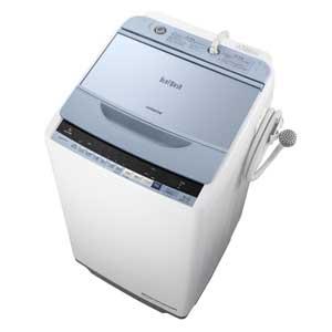 BW-V70B-A 日立 7.0kg 全自動洗濯機 ブルー HITACHI ビートウォッシュ [BWV70BA]【返品種別A】(標準設置料込)