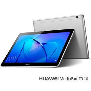 T3-10-AGS-L09 HUAWEI 9.6型タブレットパソコン MediaPad T3 10※LTE対応モデル スペースグレー [T310AGSL09]【返品種別B】