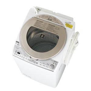 ES-TX8B-N シャープ 8.0kg 洗濯乾燥機 ゴールド系 SHARP [ESTX8BN]【返品種別A】(標準設置料込)