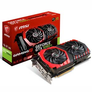 GTX1080TIGAMINGX11G MSI PCI Express 3.0 x16対応 グラフィックスボードMSI GeForce GTX 1080 Ti GAMING X 11G