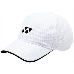 YONEX 40002J 011 ヨネックス ジュニアメッシュキャップ(ホワイト) テニス ジュニアグッズ
