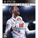 【PS3】FIFA 18 Legacy Edition エレクトロニック・アーツ [BLJM-61355 PS3 FIFA18]【返品種別B】【送料無料】