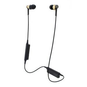 ATH-CKR35BT-GD オーディオテクニカ Ver.4.1 Bluetooth対応ワイヤレスヘッドセット(ゴールド) audio-technica [ATHCKR35BTGD]【返品種別A】