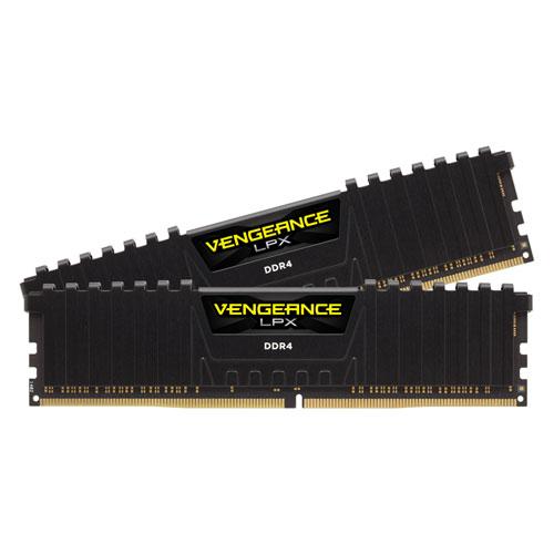 CMK32GX4M2A2666C16 コルセア PC4-21300 (DDR4-2666)288pin DDR4 DIMM 32GB(16GB×2枚) CORSAIR Vengeance LPX 32GB (2x16GB) DDR4 DRAM 2666MHz C16 Memory Kit-Black [CMK32GX4M2A2666C16]【返品種別B】
