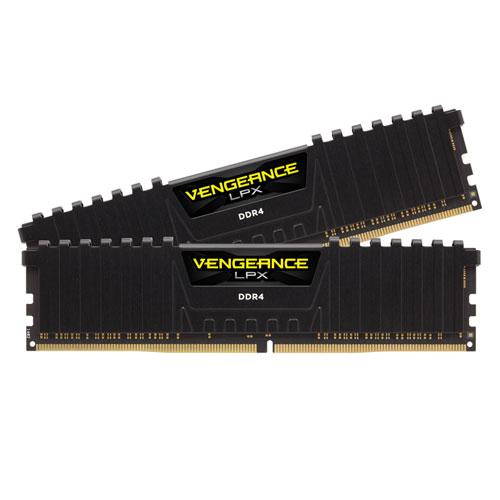 CMK16GX4M2B3200C16 コルセア PC4-25600 (DDR4-3200)288pin DDR4 DIMM 16GB(8GB×2枚) CORSAIR Vengeance LPX 16GB (2x8GB) DDR4 DRAM 3200MHz C16 Memory Kit-Black [CMK16GX4M2B3200C16]【返品種別B】