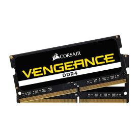 CMSX32GX4M2A2666C18 コルセア PC4-21300 (DDR4-2666)260pin DDR4 SODIMM 32GB(16GB×2枚)