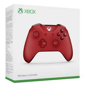 【Xbox One】Xbox ワイヤレスコントローラー(レッド) マイクロソフト [WL3-00029]【返品種別B】