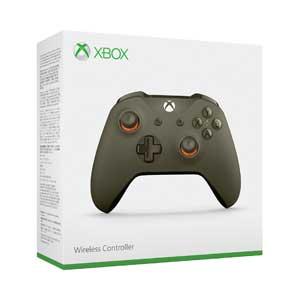 【Xbox One】Xbox ワイヤレスコントローラー(グリーン/オレンジ) マイクロソフト [WL3-00037]