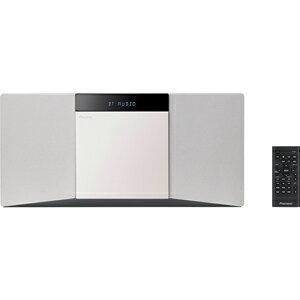 X-SMC02-W パイオニア Bluetooth対応 USB端子搭載 CDミニコンポ(ホワイト) Pioneer
