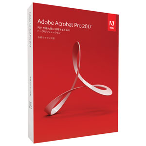 Acrobat Pro 2017 Win アドビ ※パッケージ版【返品種別B】【送料無料】