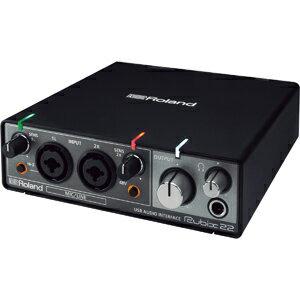 RUBIX-22 ローランド USBオーディオインターフェイス Roland