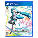 【PS4】初音ミク Project DIVA Future Tone DX(通常版) セガゲームス [PLJM-16007 PS4 ハツネミク Future Tone DX ツウジョウ]
