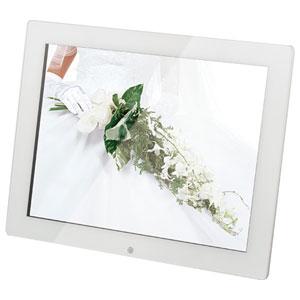KD15ER-W【税込】 恵安 15インチ デジタルフォトフレーム (ホワイト)