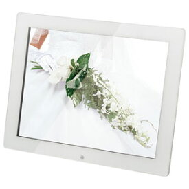 KD15ER-W 恵安 15インチ デジタルフォトフレーム (ホワイト)
