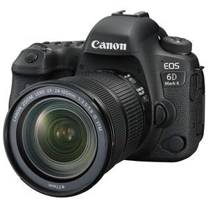 EOS6DMK224105ISSTMLK キヤノン デジタル一眼レフカメラ「EOS 6D Mark II」24-105 IS STM レンズキット [EOS6DMK224105ISSTMLK]【返品種別A】