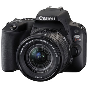 EOSKISSX9LK-BK キヤノン デジタル一眼レフカメラ「EOS Kiss X9」EF-S18-55 IS STM レンズキット(ブラック) [EOSKISSX9LKBK]【返品種別A】