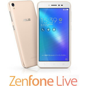 ZB501KL-GD16 エイスース ASUS ZenFone Live シャンパンゴールド [ZB501KLGD16]【返品種別B】【送料無料】
