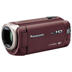 HC-W585M-T パナソニック デジタルビデオカメラ「HC-W585M」(ブラウン)
