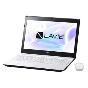PC-NS350HAW NEC 15.6型 ノートパソコン LAVIE Note Standard NS350/HAシリーズクリスタルホワイト (Office Home&Business Premium プラス Office 365) [PCNS350HAW]【返品種別A】