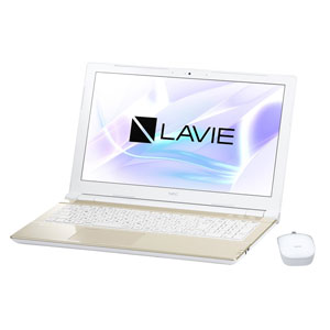 PC-NS150HAG NEC 15.6型 ノートパソコン LAVIE Note Standard NS150/HAシリーズシャンパンゴールド (Office Home&Business Premium プラス Office 365) [PCNS150HAG]【返品種別A】