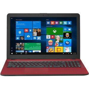 X541UA-R256G エイスース 15.6型ノートパソコン ASUS VivoBook X541UA レッド [X541UAR256G]【返品種別A】