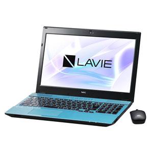 PC-NS750HAL NEC 15.6型 ノートパソコン LAVIE Note Standard NS750/HAシリーズクリスタルブルー (Office Home&Business Premium プラス Office 365) [PCNS750HAL]【返品種別A】