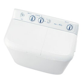 (標準設置料込)JW-W45E-W ハイアール 4.5kg 2槽式洗濯機 ホワイト Haier [JWW45EW]
