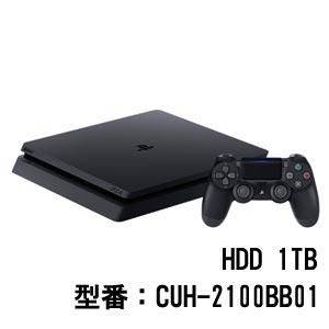 PlayStation 4 ジェット・ブラック 1TB【お一人様一台限り】 ソニー・インタラクティブエンタテインメント [CUH-2100BB01 PS4ブラック1TB]【返品種別B】