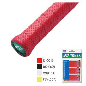 YONEX AC143-3 007 ヨネックス タッキーフィットグリップ 3本入(ブラック・幅25mm×長さ1200mm×厚さ0.7mm) YONEX
