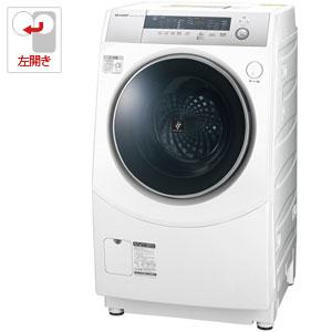 ES-H10B-WL シャープ 10.0kg ドラム式洗濯乾燥機【左開き】 ホワイト系 SHARP [ESH10BWL]【返品種別A】(標準設置料込)