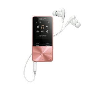 NW-S313 PI ソニー ウォークマン S310シリーズ 4GB(ライトピンク) SONY Walkman