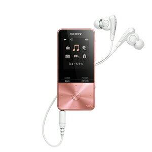 NW-S315 PI ソニー ウォークマン S310シリーズ 16GB(ライトピンク) SONY Walkman [NWS315PIC]【返品種別A】
