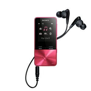 NW-S315 P ソニー ウォークマン S310シリーズ 16GB(ビビッドピンク) SONY Walkman [NWS315PC]【返品種別A】