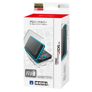 【New2DS LL】PCハードカバー for Newニンテンドー2DS LL ホリ [2DS-105 New2DSLL PCハードカバー]【返品種別B】
