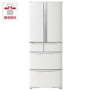R-F48M2-W 日立 475L 6ドア冷蔵庫(パールホワイト) HITACHI [RF48M2W]【返品種別A】(標準設置料込)