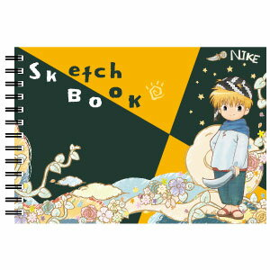 HG8521 ヒサゴ 魔法陣グルグル 図案スケッチブック/ニケ