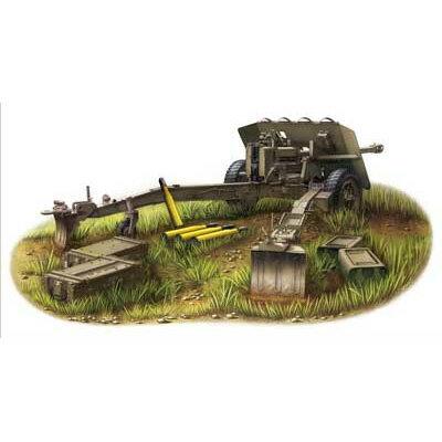 1/35 英・17ポンド(76.2mm)Mk.I 対戦車砲【CB35024】 ブロンコ