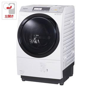 NA-VX7800L-W パナソニック 10.0kg ドラム式洗濯乾燥機【左開き】クリスタルホワイト Panasonic 泡洗浄 [NAVX7800LW]【返品種別A】(標準設置料込)