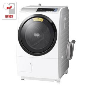 BD-SV110BL-S 日立 11.0kg ドラム式洗濯乾燥機【左開き】シルバー HITACHI [BDSV110BLS]【返品種別A】(標準設置料込)