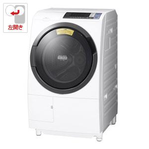(標準設置料込)BD-SG100BL-W 日立 10.0kg ドラム式洗濯乾燥機【左開き】ホワイト HITACHI [BDSG100BLW]【返品種別A】