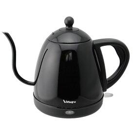 VD-K121BK ビアレグレ 電気ケトル 0.8L ブラック ViAlegre ビアレグレ エレクトリックケトル