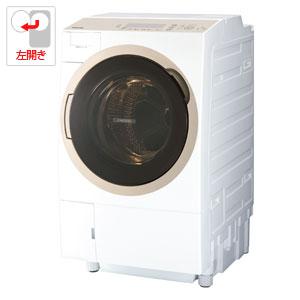 TW-117A6L-W 東芝 11.0kg ドラム式洗濯乾燥機【左開き】グランホワイト TOSHIBA ZABOON [TW117A6LW]【返品種別A】(標準設置料込)