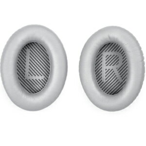 EAR CUSHION QC35 SLV ボーズ QuietComfort 35用交換用イヤーパッド(2個1組・シルバー) BOSE [EARCUSHIONQC35SLV]【返品種別A】