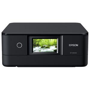 EP-880AB エプソン A4プリント対応 インクジェット複合機(ブラック) EPSON Colorio(カラリオ) [EP880AB]【返品種別A】