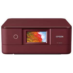 EP-880AR エプソン A4プリント対応 インクジェット複合機(レッド) EPSON Colorio(カラリオ) [EP880AR]【返品種別A】
