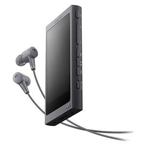 NW-A46HN B ソニー ウォークマン A40シリーズ 32GB ハイレゾ対応デジタルノイズキャンセリングヘッドホン同梱モデル(グレイッシュブラック) SONY Walkman [NWA46HNBM]【返品種別A】【送料無料】
