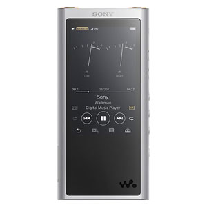 NW-ZX300 S ソニー ウォークマン ZX300シリーズ 64GB ヘッドホン非同梱モデル(シルバー) SONY Walkman [NWZX300SM]【返品種別A】【送料無料】