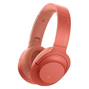 WH-H900N R ソニー ノイズキャンセリング機能搭載Bluetooth対応ダイナミック密閉型ヘッドホン (トワイライトレッド) SONY h.ear on 2 Wireless NC